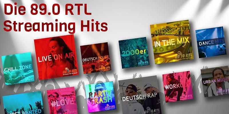 Die 89.0 RTL Streaming Hits