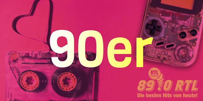 89.0 RTL Throwback: 90er