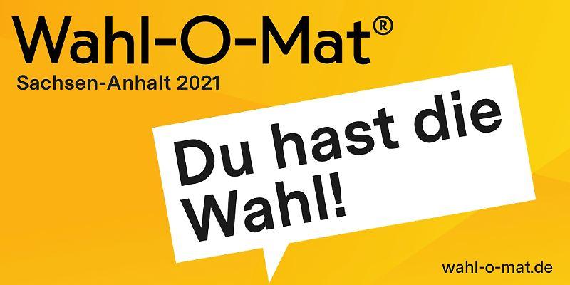 Wahl-O-Mat zur Landtagswahl Sachsen-Anhalt online