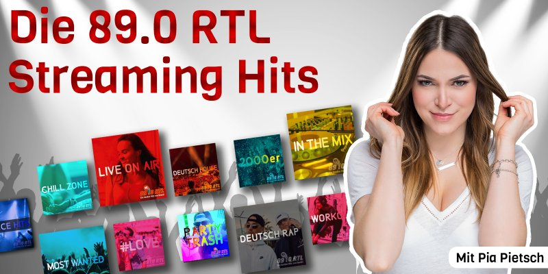 Die 89.0 RTL Streaming Hits mit Pia Pietsch