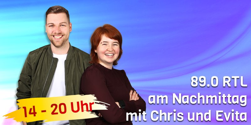 89.0 RTL am Nachmittag