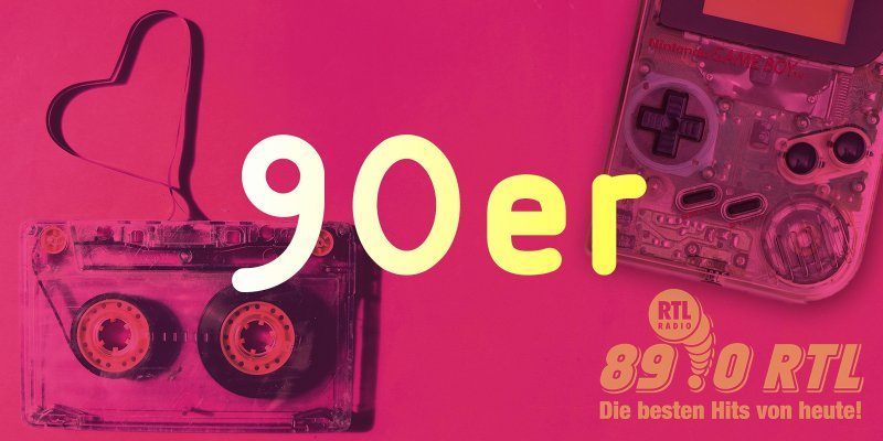 89.0 RTL Throwback: 90er